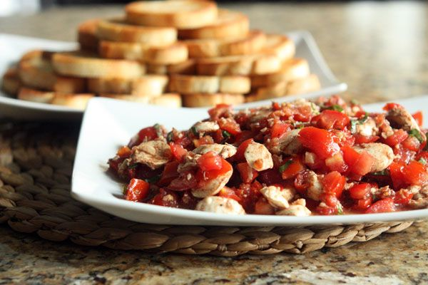 Bruschetta Mozzarella | Food Worth Eating | Pinterest