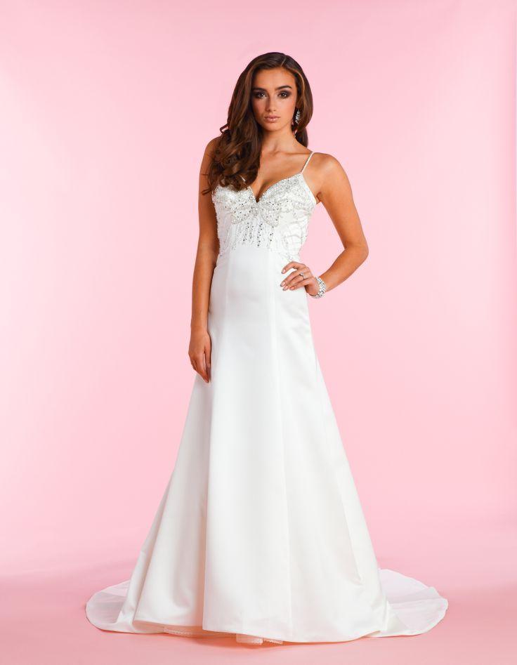 Pin by melanie hilsendeger on wedding dresses pinterest for Butterfly back wedding dress