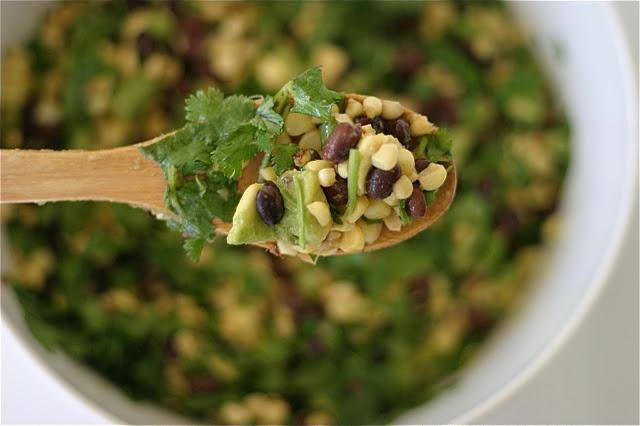 Corn and Avocado Salad | Yummy | Pinterest