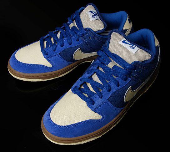 "Nike Dunk Low SB ""Gold Rail"" - 2008"