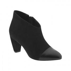 SALE - Loeffler Randall Nanette Booties Womens Black Leather - Was