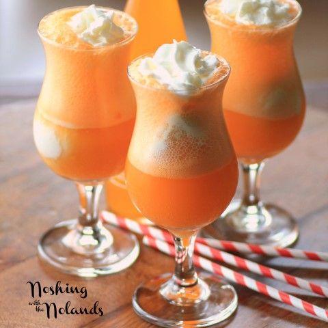 Orange Creamsicle Float for #IceCreamWeek | Recipe