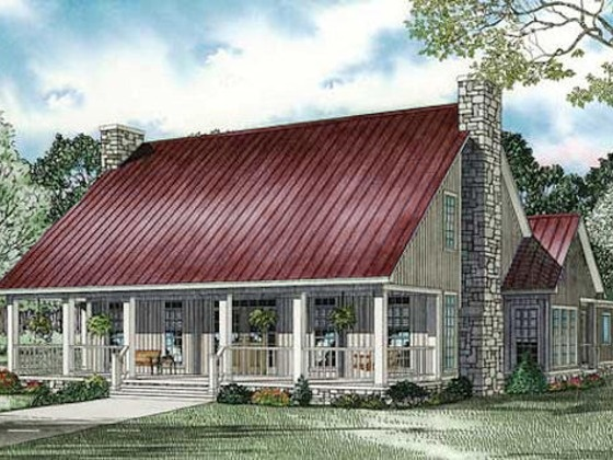 Cute Country Plan Home Plans Pinterest