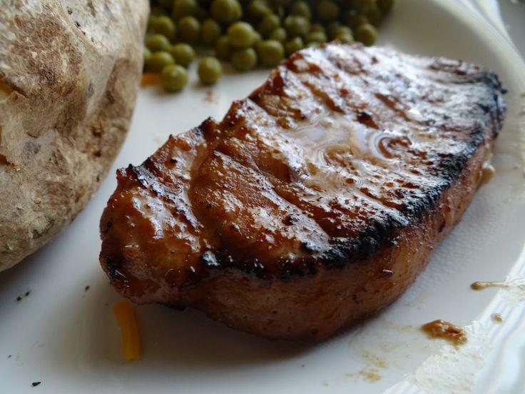 soy and ginger marinated pork chops marinated pork shoulder best pork ...