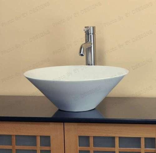 Round cone vessel sink master bath pinterest for Master bathroom vessel sink