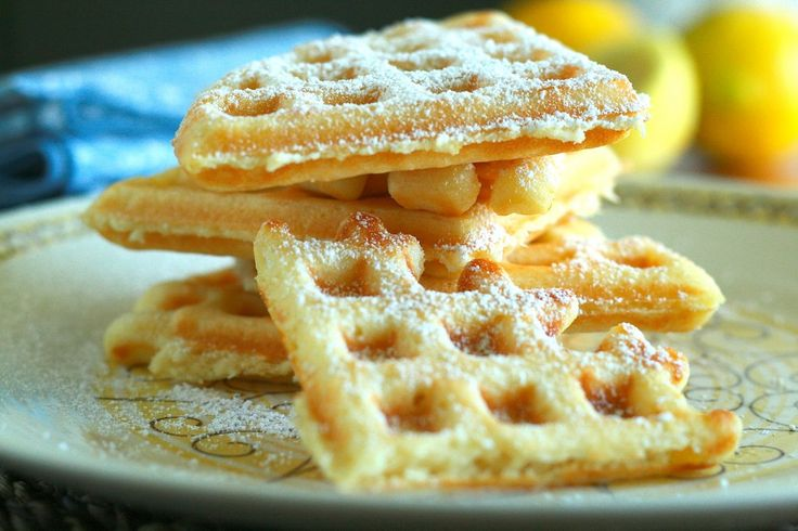 Lemon Waffles | Thousand Story Kitchen | Get in to my belly! | Pinter ...