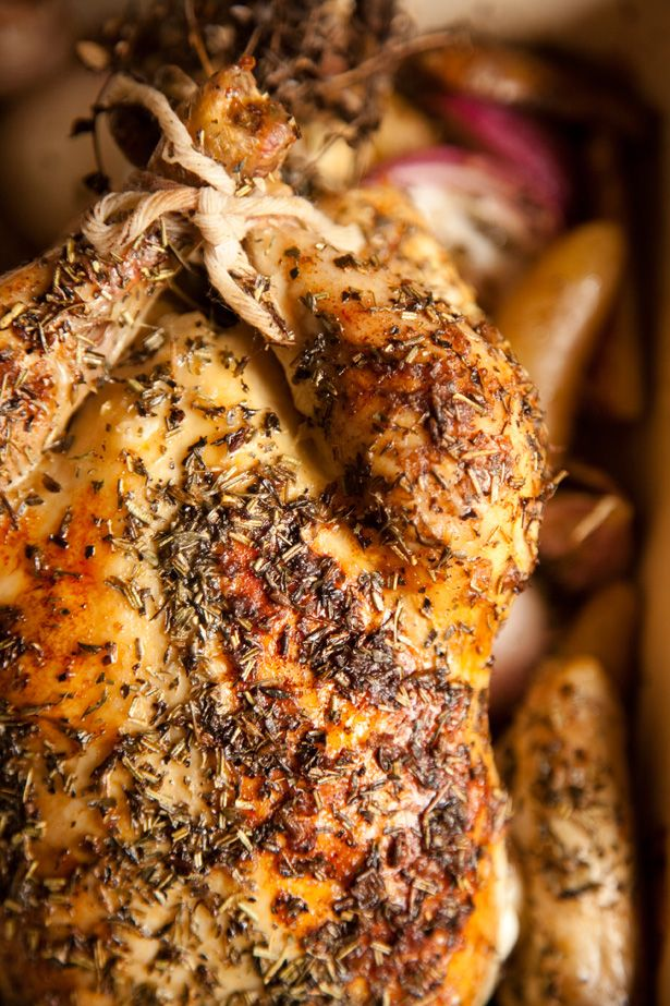 ... The World: Easy French Recipes - How to Make Roast Chicken Provencal