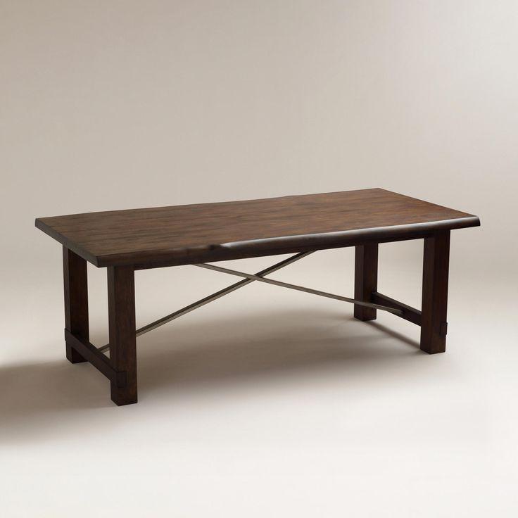 Ridge Dining Table  World Market  For the Home  Pinterest