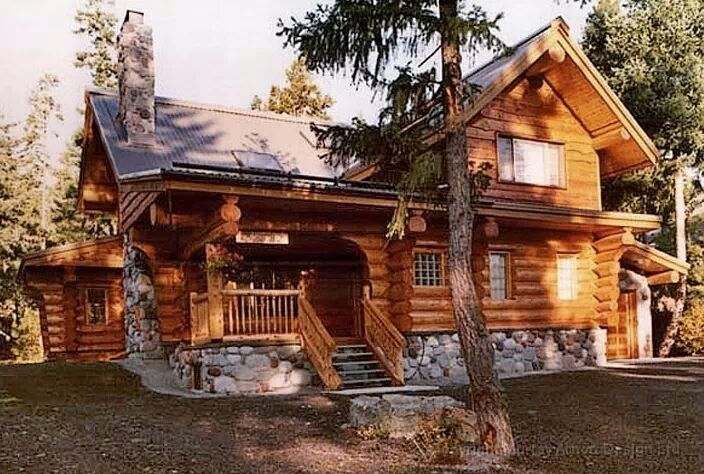 Beautiful Log Home Dream Cabin Ideas Pinterest