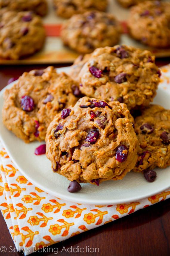Favorite Pumpkin Oatmeal Cookies