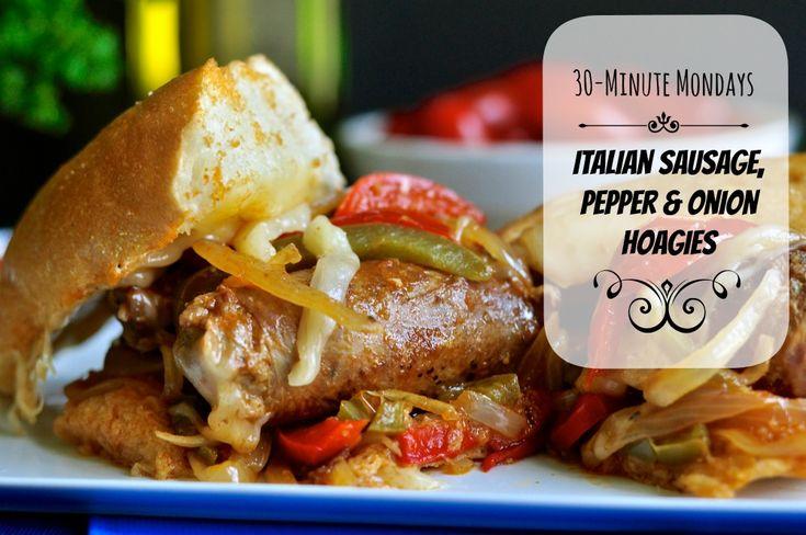 Girl Unmodified|Italian Sausage Onion & Pepper Hoagies. Fresh Italian ...
