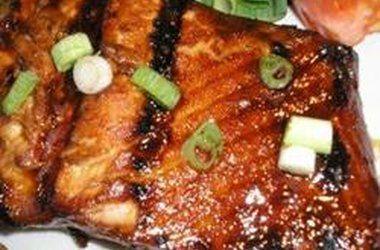 Honey-Ginger Grilled Salmon | yummy eats | Pinterest