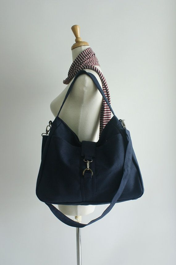 ... - 20% - Ashley in navy blue  Messenger  Diaper bag  Tote bag
