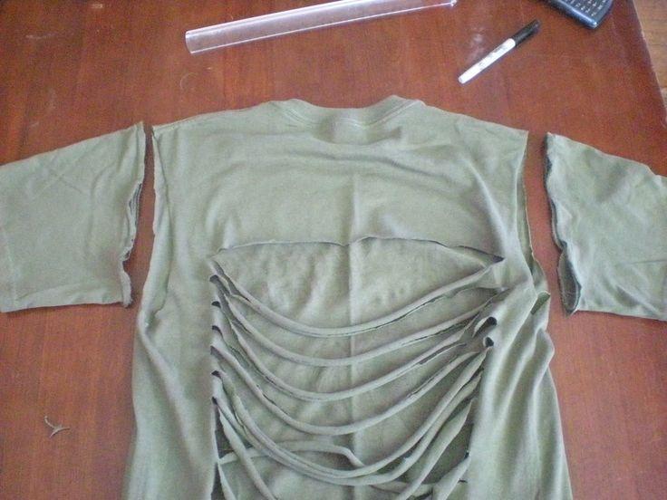 99 ways to cut shirts t shirt pinterest