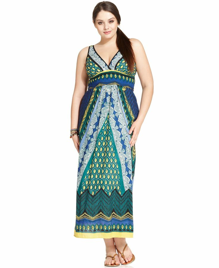 plus length dresses glam