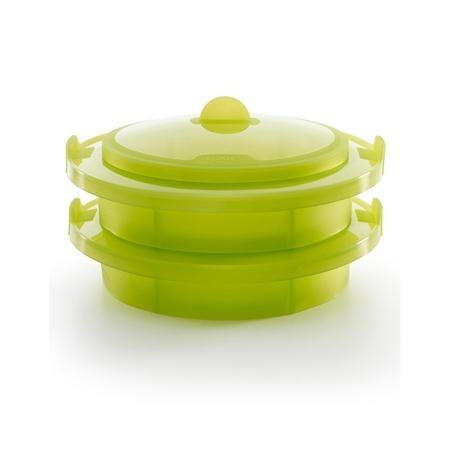 Lékué Layered Steamer, Green