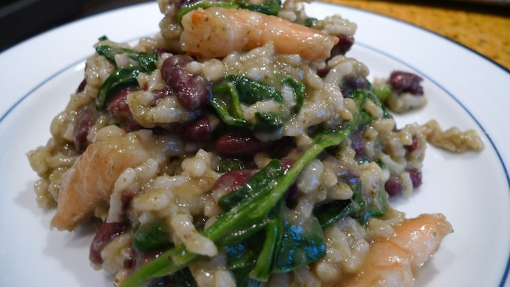 Shrimp and Spinach Risotto- Latin Style | Recipes | Pinterest