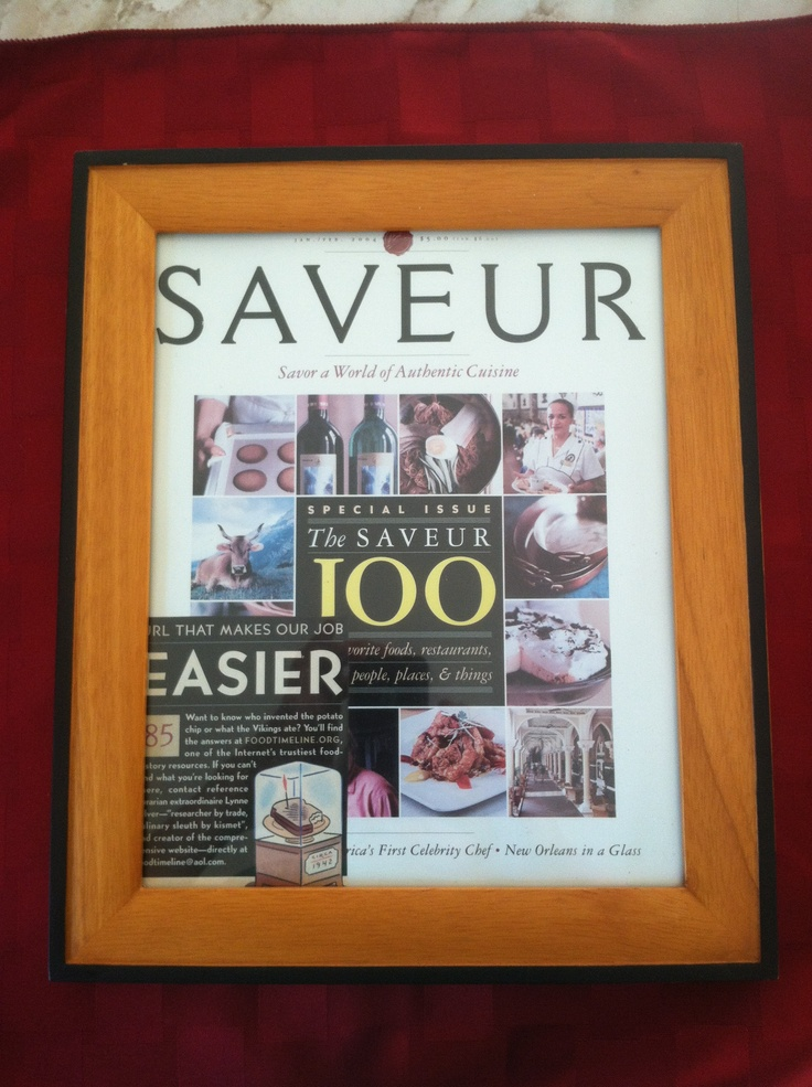 FoodTimeline was Saveur 100 in 2004. #85: url that makes our job easier.