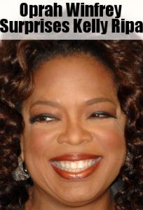 Kelly amp michael surprised by oprah winfrey amp the haves amp the have nots