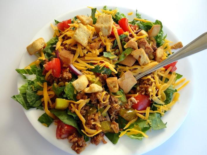 Cheeseburger Salad | Salads | Pinterest