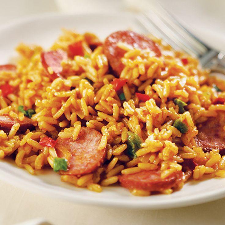 ... any combination of smoked sausage, chicken, pork, ham and shrimp