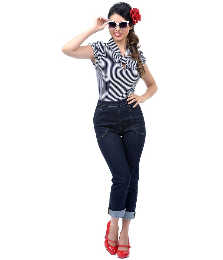 Rockabilly Women Jeans | www.imgkid.com - The Image Kid Has It!