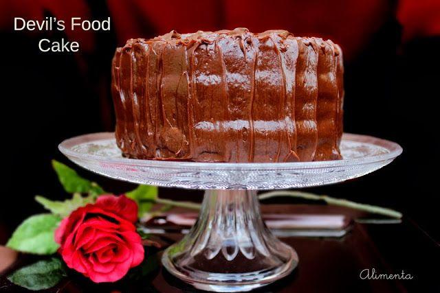 Devil's food cake   Tartas y pastelitos   Pinterest