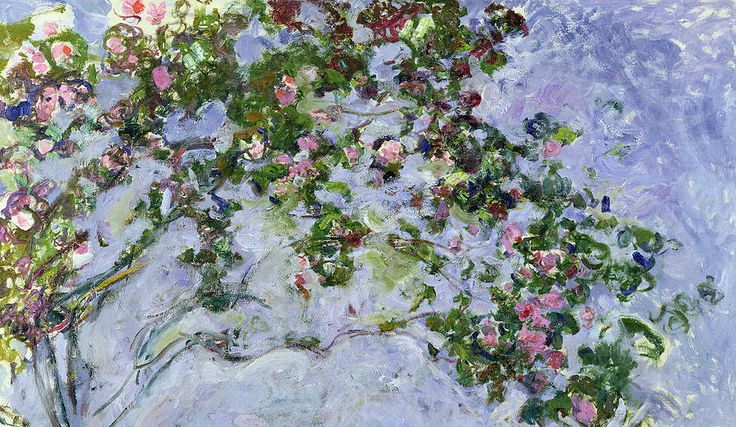 The Roses, 1925-26 (oil on canvas) by Claude Monet