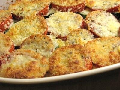 ... onion s zucchini gratin tomato summer squash and caramelized onion