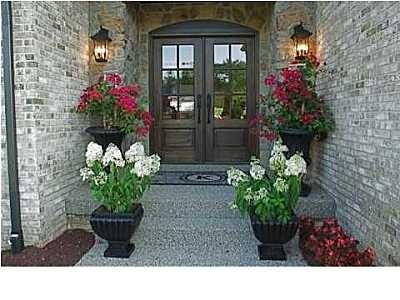 Home Decorating on Front Entry   Home Decor