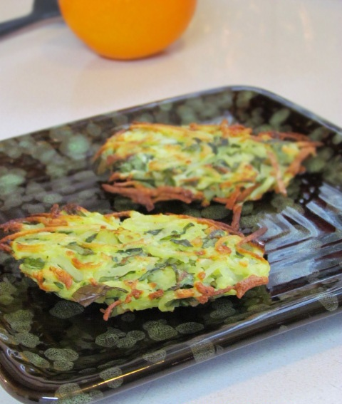Spinach and Feta Potato Fritters | yummy stuff | Pinterest