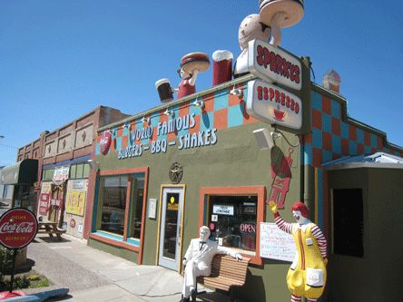 Sparky's Burgers, Barbecue & Espresso – Hatch, New Mexico