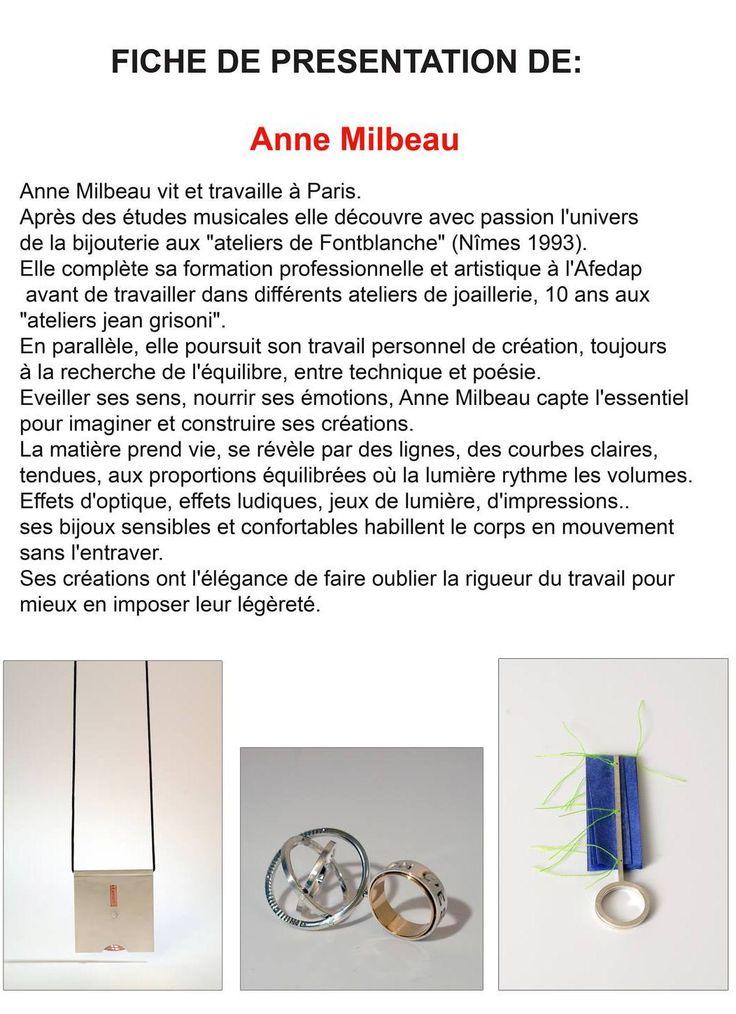 CIRCUITS BIJOUX - Totalement exquis - Anne Milbeau, fiche