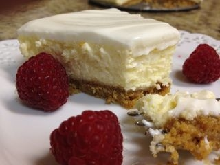 My Mom's Cheesecake | A Bit of This and A Lot of That | Pinterest