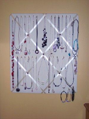 jewelry hanging board