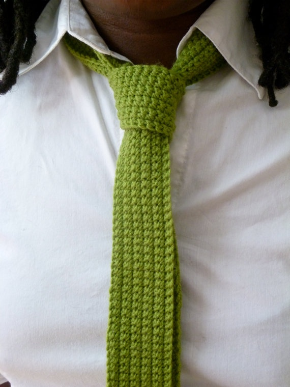 knitted skinny ties. DIY- Knitting/Crocheting/Etc. Pinterest
