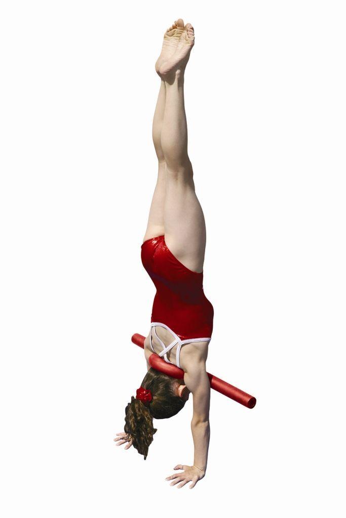 Open Shoulder Trainer Handstands Gymnastics Pinterest