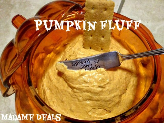 Halloween Recipes: Pumpkin Fluff | yum! food! | Pinterest