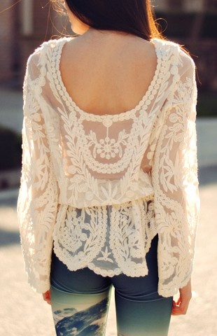 where to buy purses Delicacy Crochet Top