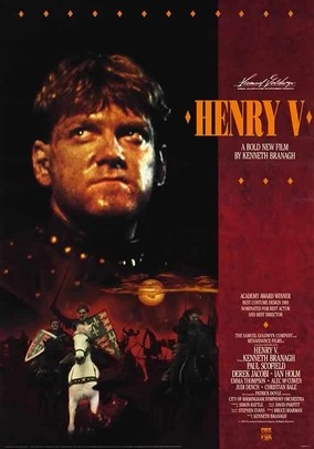 the war against france in branaghs version of shakespeares henry v The presentation of king henry v in the film  olivier's molding of the character was heavily influenced by his film's aim as a morale booster for troops during world war ii kenneth.