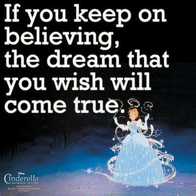 dreams do come true Dreams do come true, if we only wish hard enough, you can have anything in  life if you will sacrifice everything else for it - james m barrie quotes from.