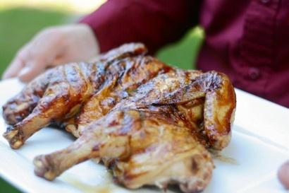 Grilled Butterflied Chicken   Recipe
