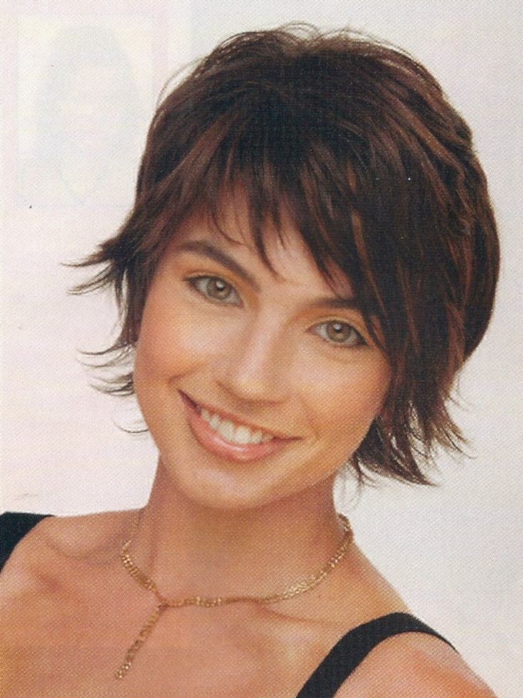 Shag Hairstyles for Round Faces Short Edgy Hairstyles For Round Faces