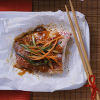 Baked fish in parchment 30min Meal | Recipes | Pinterest