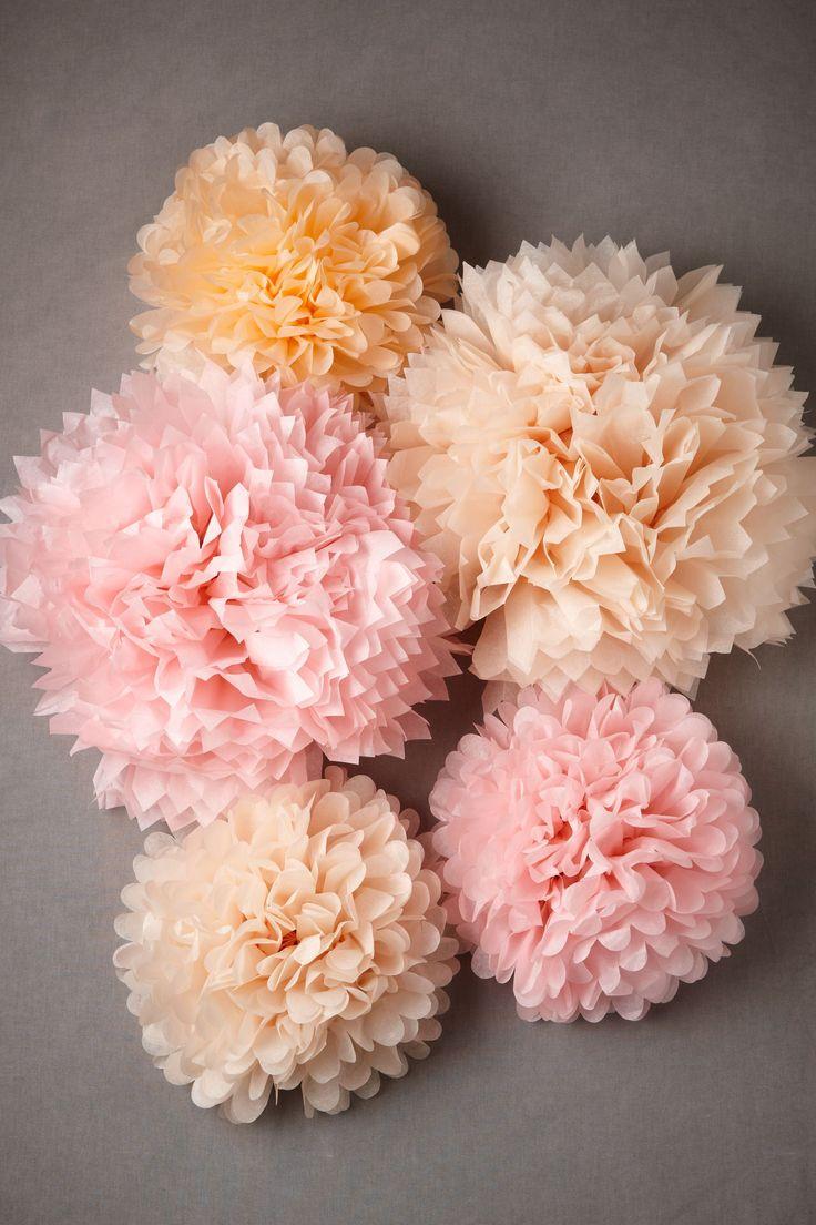 decorations, ceremony, decor, decoration, event, flowers, party, pastel, peach, pom, reception