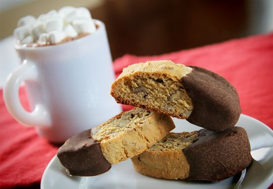 Pecan Biscotti --these were delicious and I will make them again