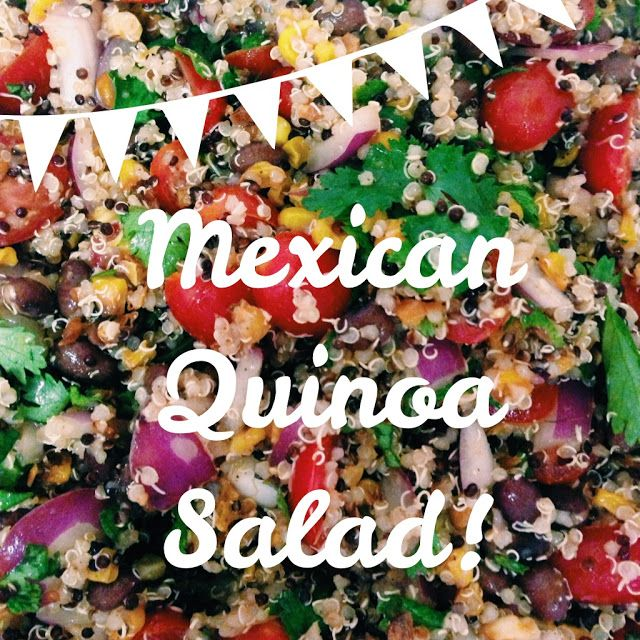 mexican quinoa salad | Recipes to Try | Pinterest