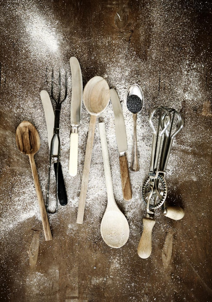 Have beautiful old things in your kitchen---it is fun to love beautiful things.