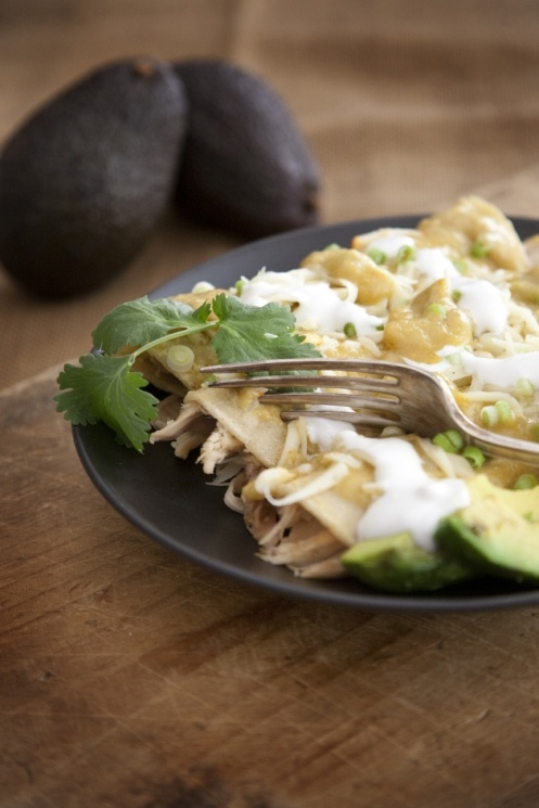 Authentic Enchiladas Verdes Recipes — Dishmaps