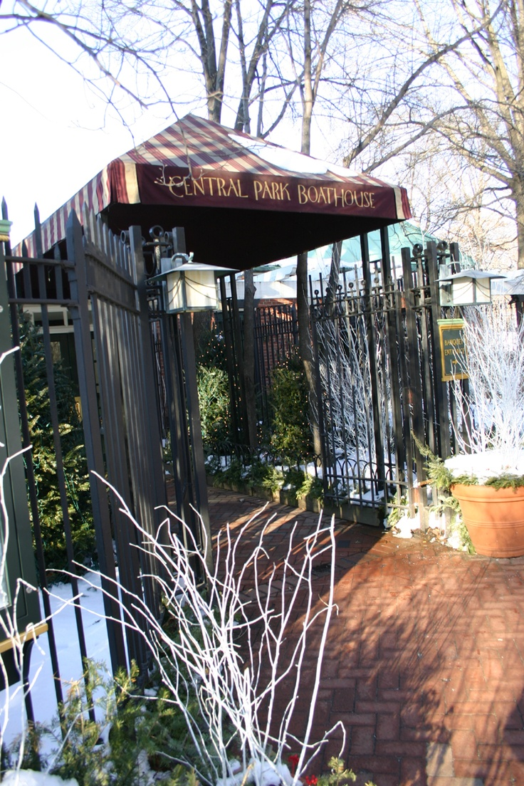 the Central Park Boathouse